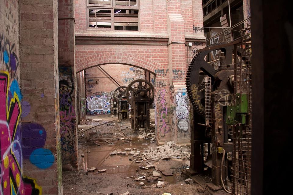 Factory, Urban Exploration, Abandoned, City, Urbex