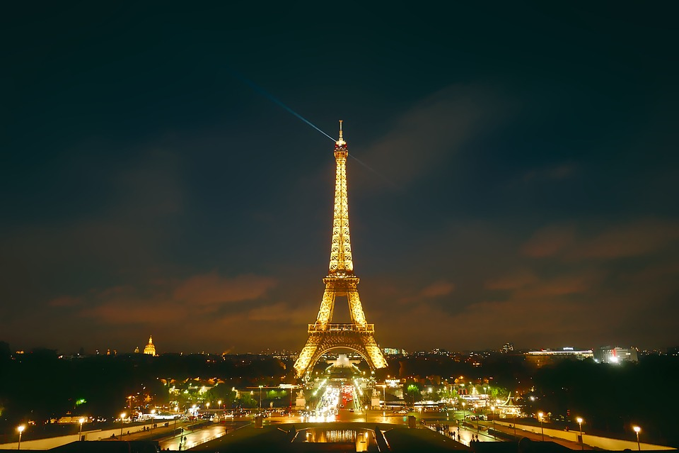 Paris, France, City, Urban, Eiffel Tower, Landmark