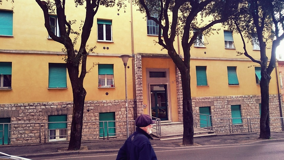 Road, Urban, Scene, Italy, Perugia, Via Innamorati
