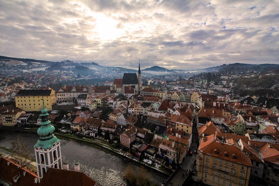 Panoramic, City, Urban Landscape, Travel, Architecture