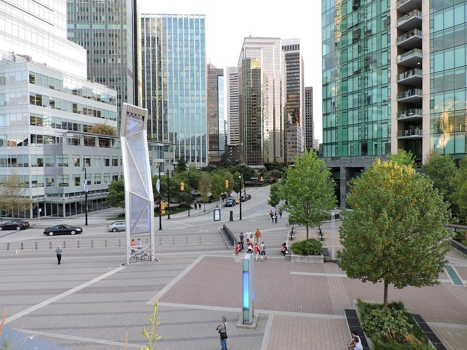 Downtown, City, Cityscape, Urban, Modern, Business