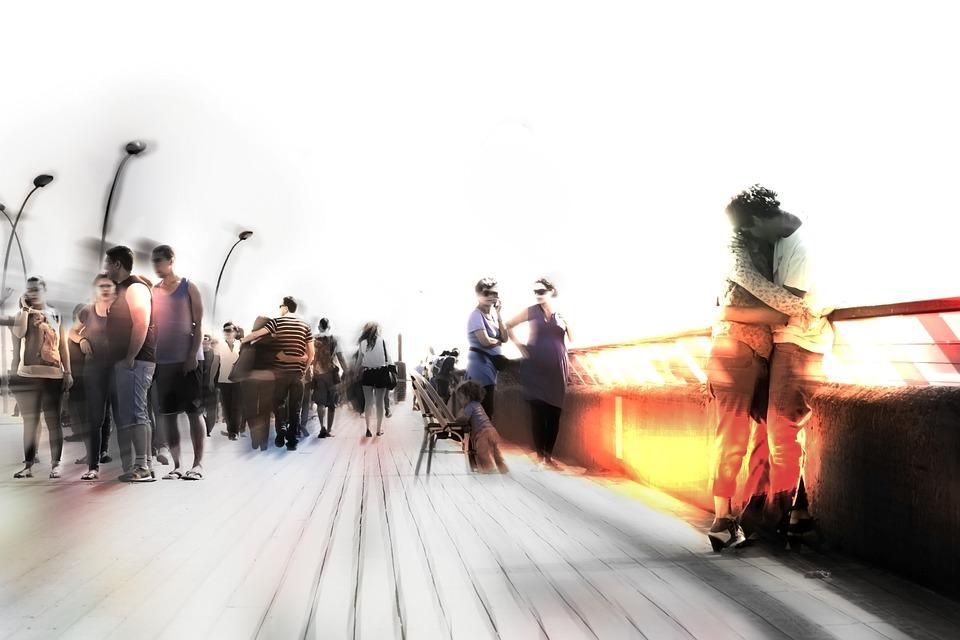 People, Blur, Blurred, Urban, Cityscape, Blured People