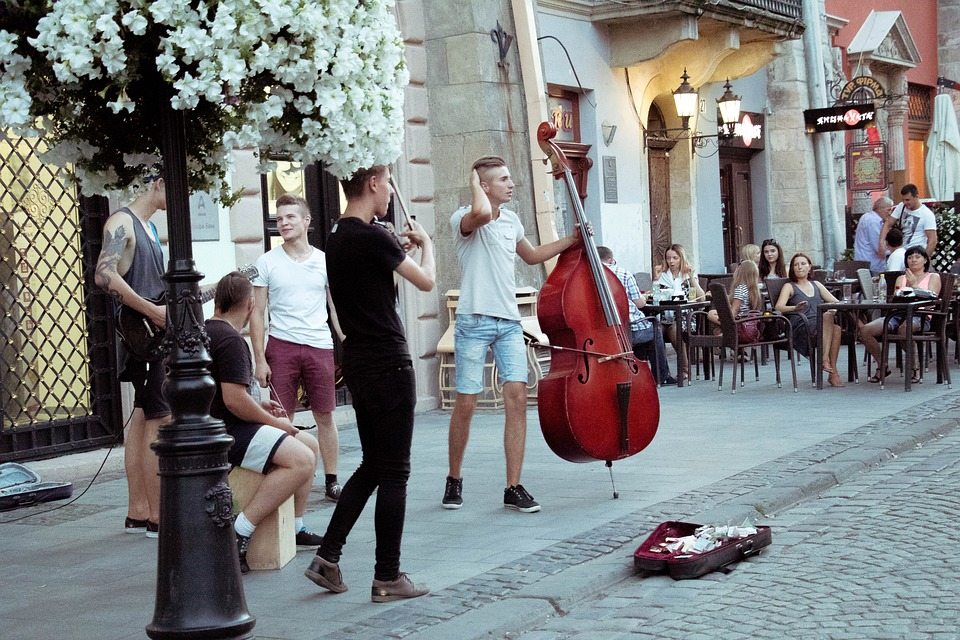 Music, Street, Urban, City, Young, Person, Outdoor