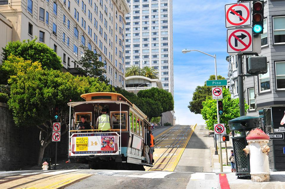 City, Transportation, San Francisco, Urban, Street