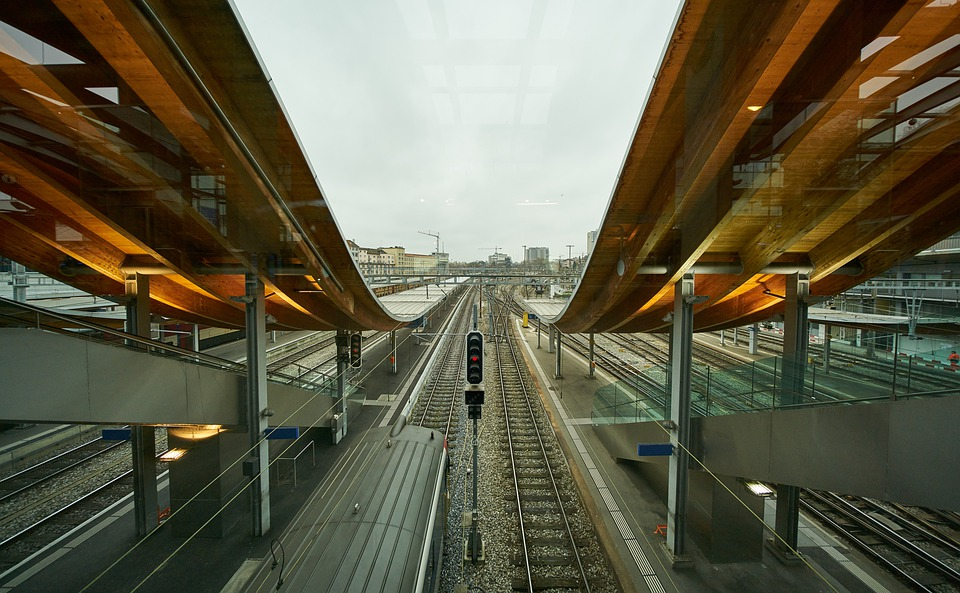 Bern, Welle7, Railway, Station, Train, Urban