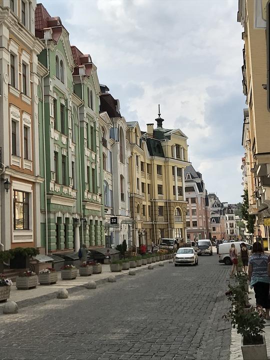 Street, City, Architecture, Town, Urban