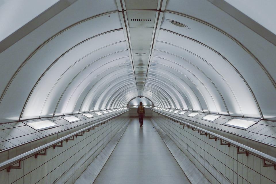 Tube, Underground, Subway, Metro, Urban, Public, City