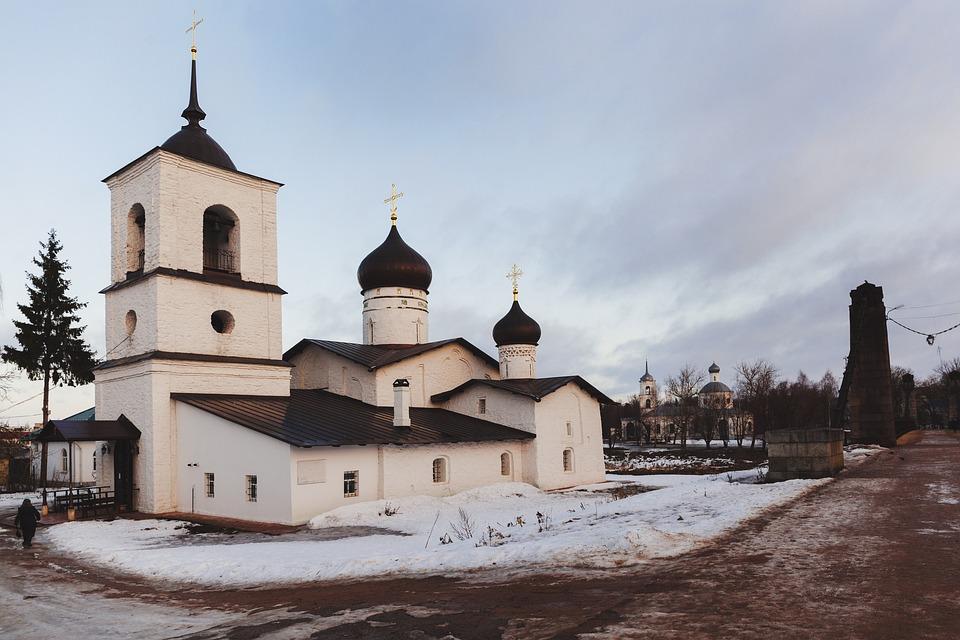 Island, Church, Cathedral, Dome, Urban Views