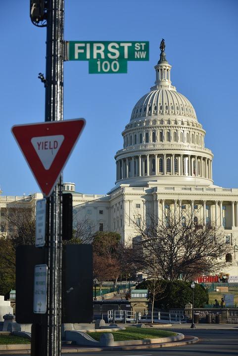 Us Capitol, Washington Dc, America, Government