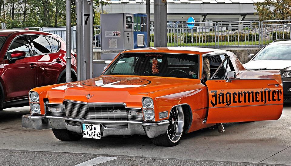 Cadillac, Us Car, Classic, Vehicle, Auto, American, Pkw