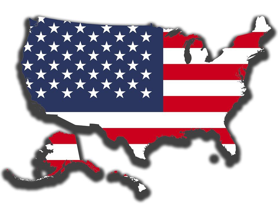 Usa, Us, United States, Flag, Stars And Stripes, Nation