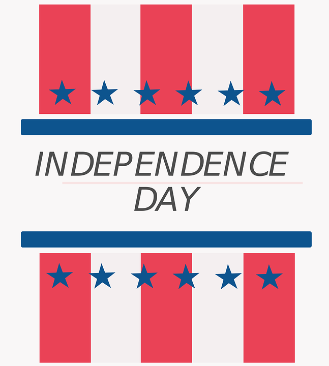 Day, Independence, July, Background, Usa, 4th, Flag