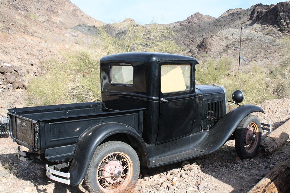 Usa, Arizona, Quartzsite, Ghost Town, Stainless, Auto