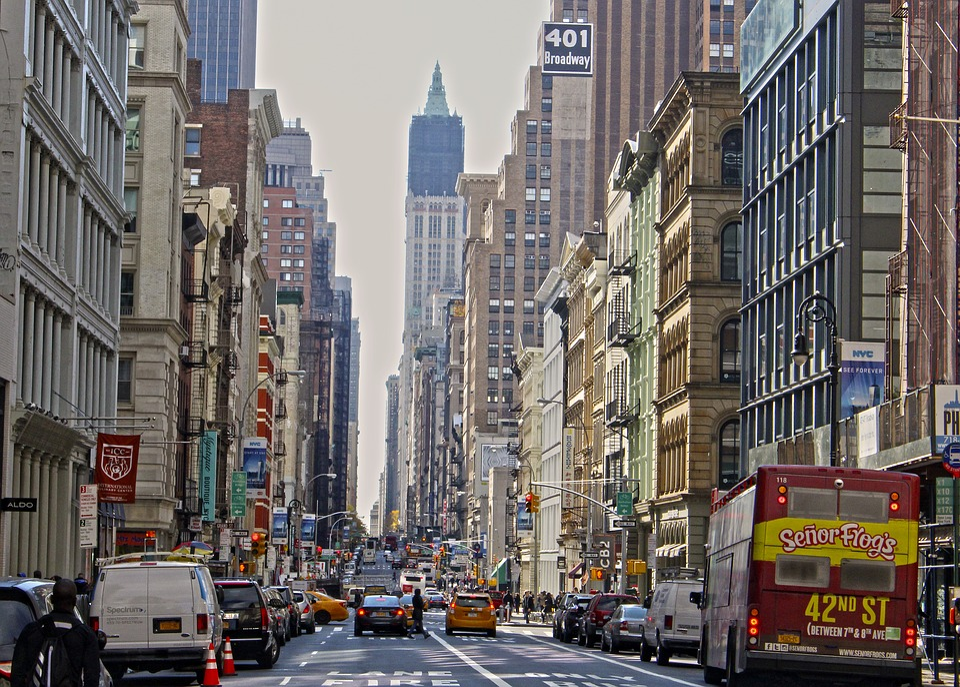 Free Photo Usa Broadway Manhattan City New York Nyc