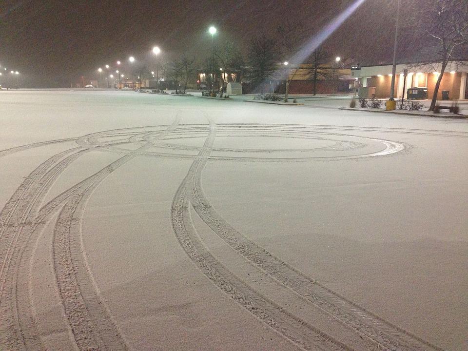 Snow, Usa, Drive