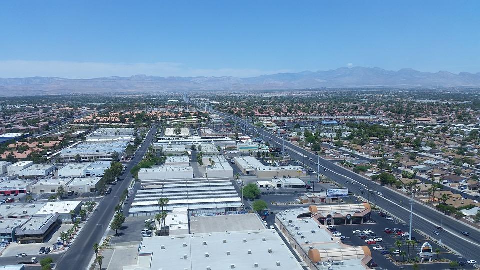 City, Nevada, Usa, Famous, Skyline, Landmark
