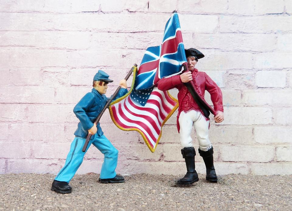United States, Great Britain, Allies, Flag, Uk, Usa