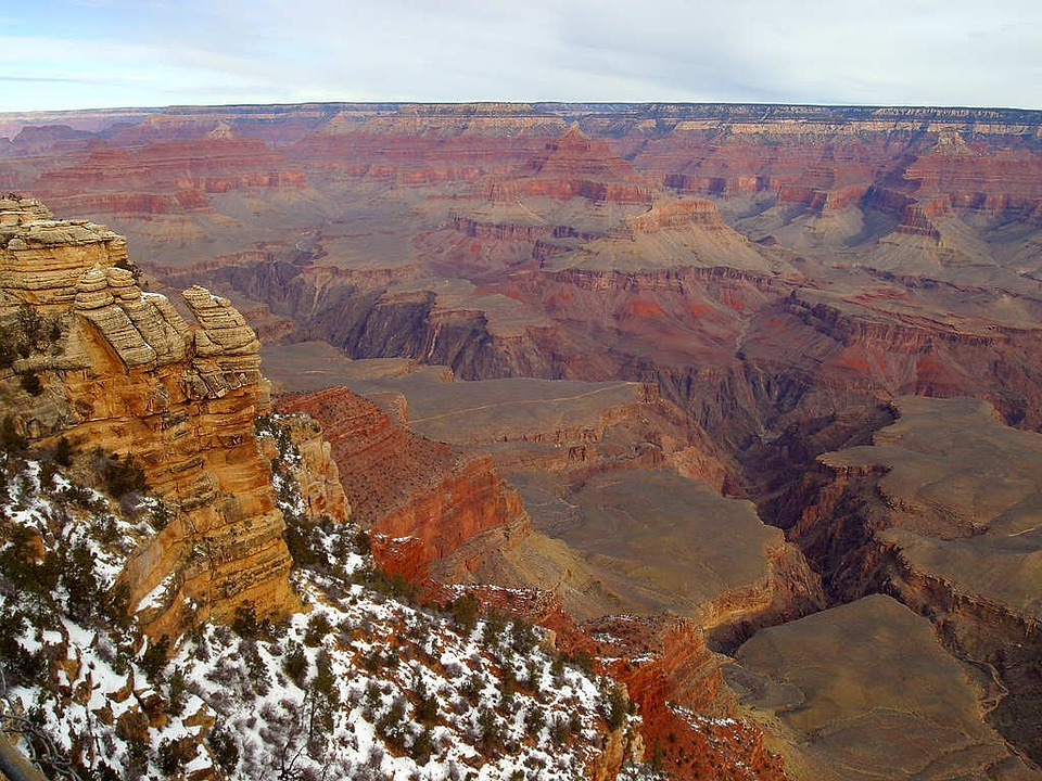 Grand Canyon, Gorge, Arizona, Usa, Rock, Hiking, Hike