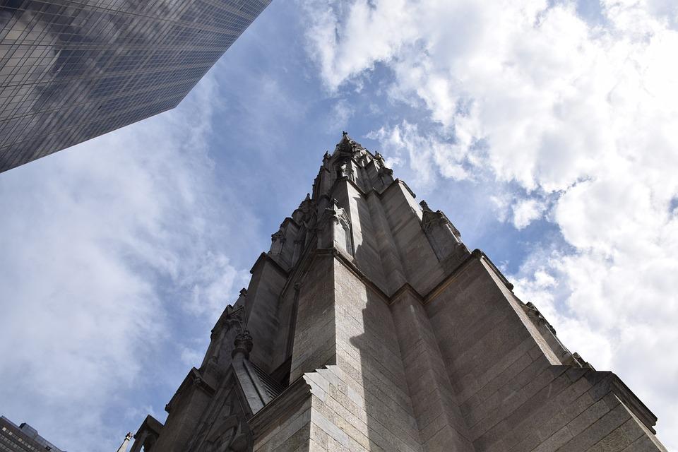 In New York City, Usa, Us, America, City, Church