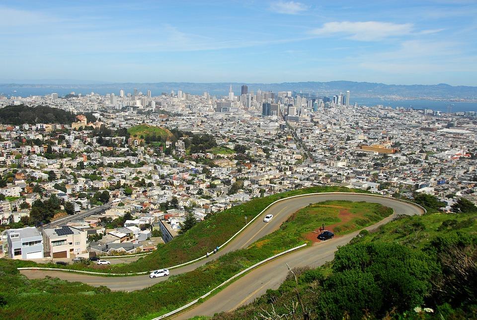Landscape, San Fransisco, California, Usa