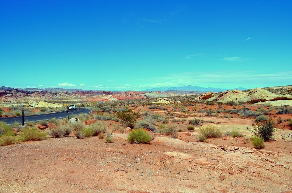 Desert, Road, Stone Desert, Usa, Loneliness