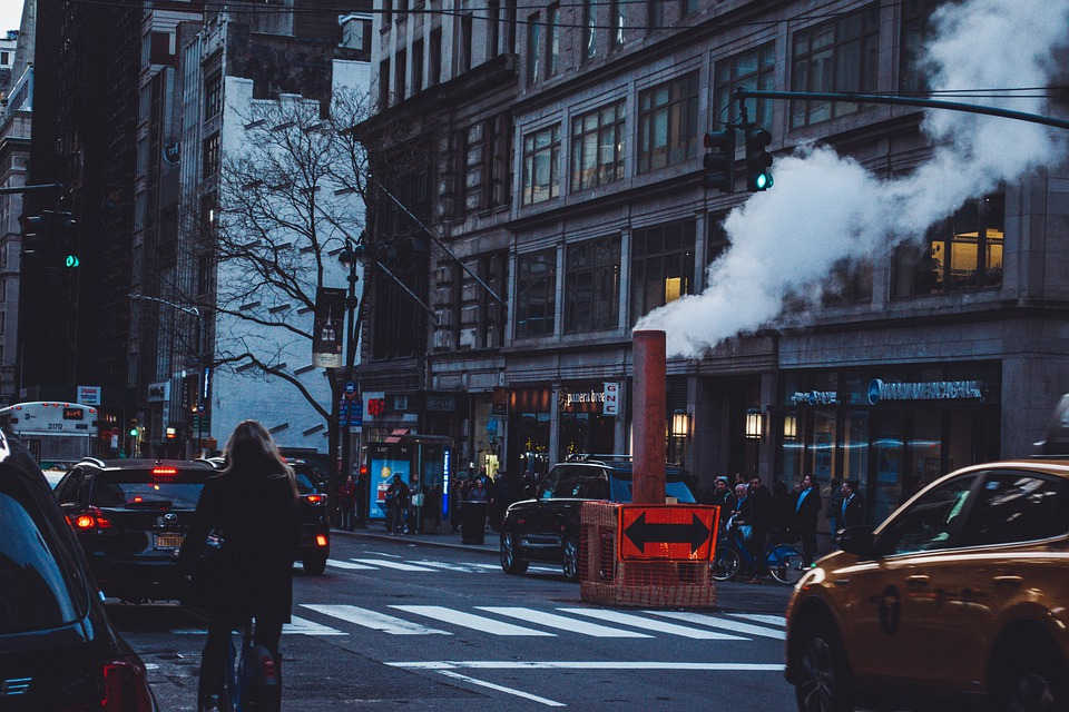 New York, Ny, Street, City, Nyc, Manhattan, Usa