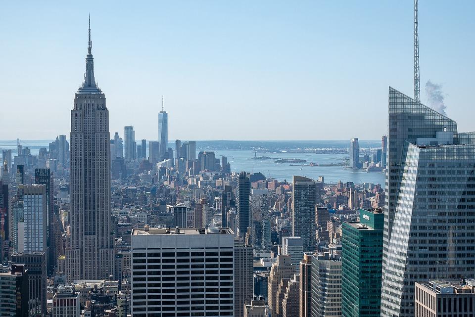 Buildings, Newyork, City, Usa, Skyline, Manhattan, Town