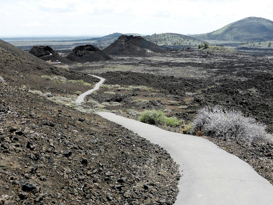 Nature, Lava, Craters Of The Moon, Grit, Usa