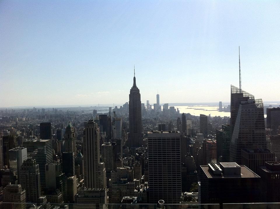 Skyline, America, New York, City, Usa, Big Apple