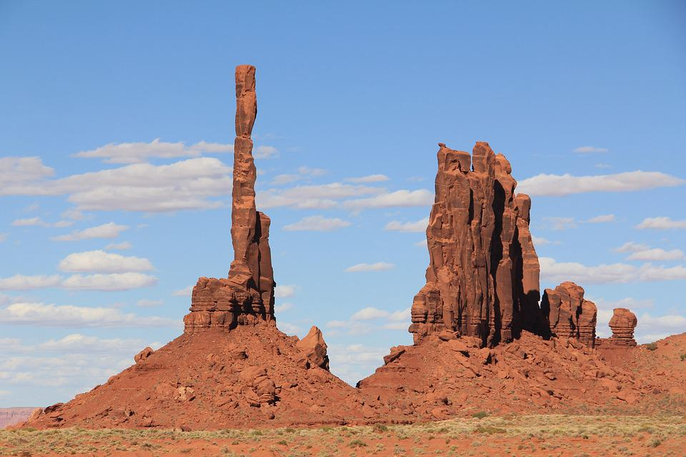 Usa, Monument Valley, Landscape, Rocky Towers, West
