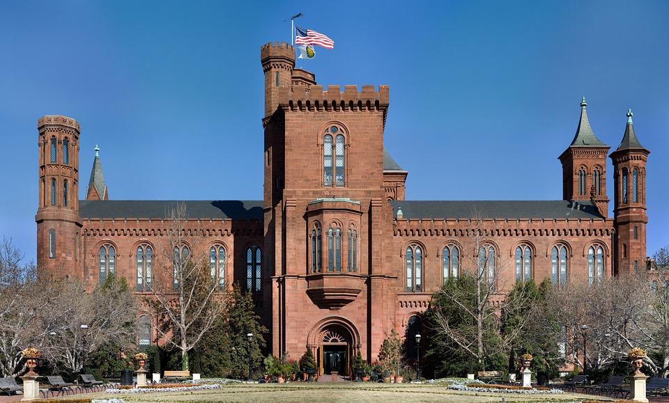 Smithsonian, Institute, Washington, Usa