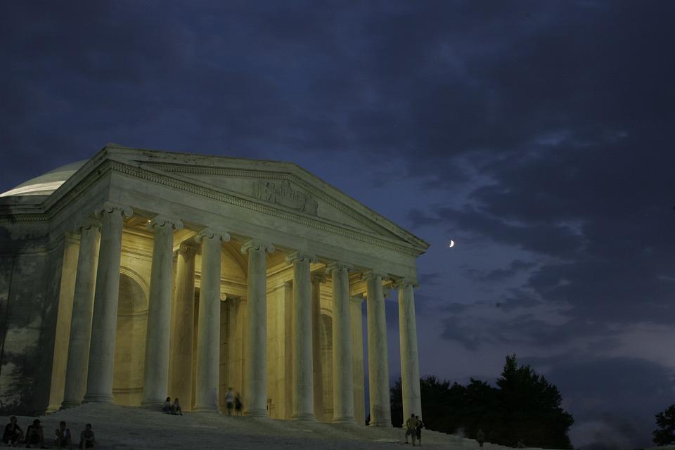 Thomas Jefferson Memorial, Memorial, Washington Dc, Usa