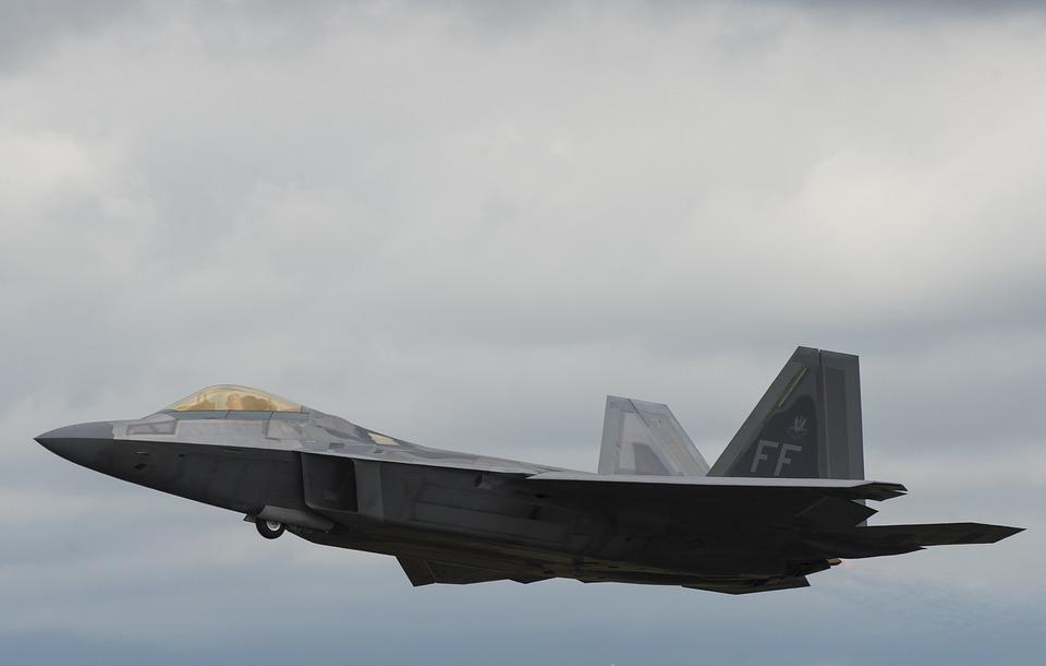 F-22, Raptor, Usaf, Us Air Force