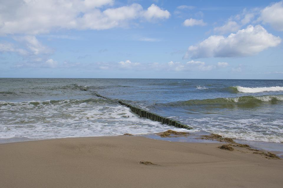 Baltic Sea, Ostseebad Koserow, Beach, Usedom, Sea
