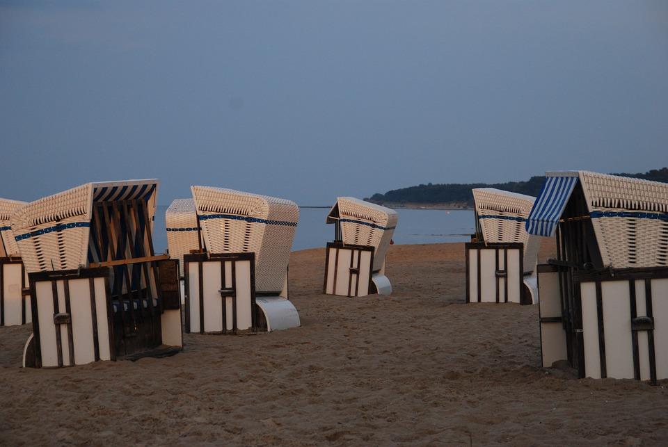 Clubs, Baltic Sea, Beach, Sand, Usedom, Intertwined