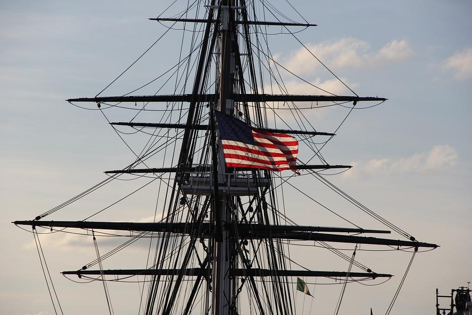 free photo uss constitution pat boston harbor boston max pixel