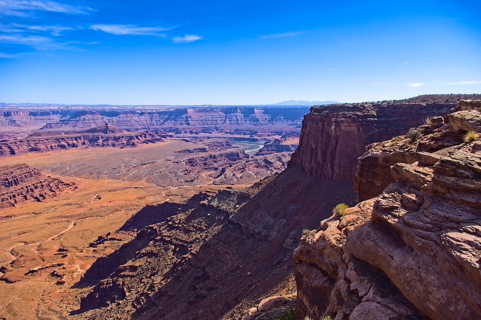 View From Dead Horse Point, Canyon, Desert, Utah