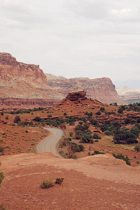 Road, Desert, Utah, Ut, National, Park, Nature, Outdoor
