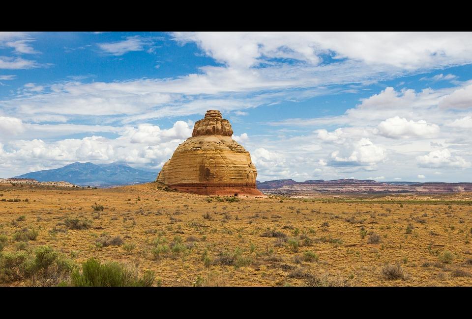 Rock Church, Usa, Utah, Southwest, National Park, Rock