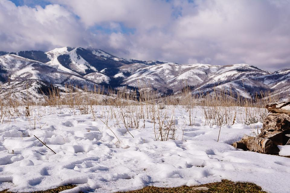 Snow, Mountains, Utah, Landscape, Scenic, Alpine