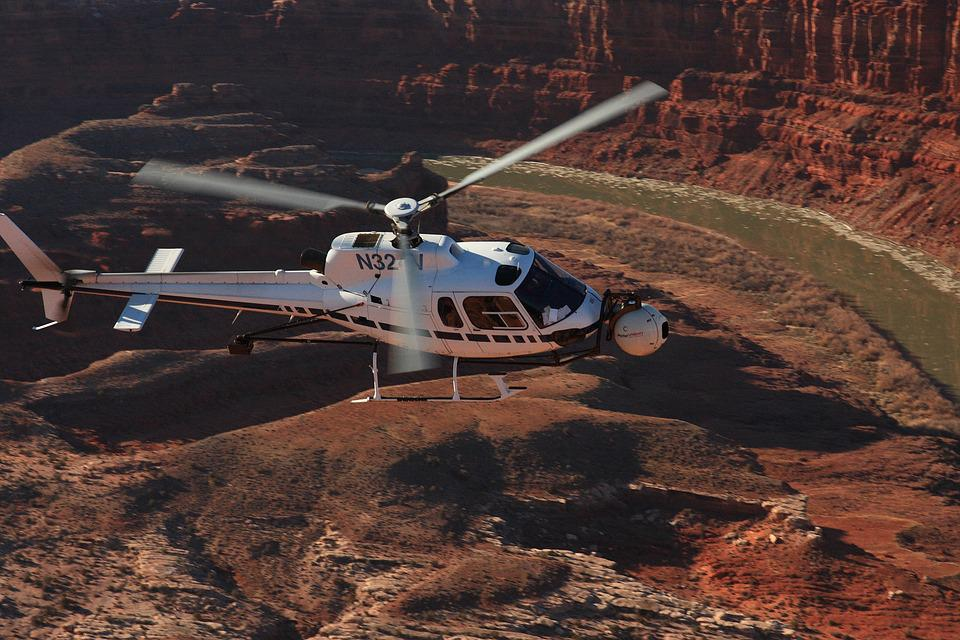 Helicopter, Utah State Parks