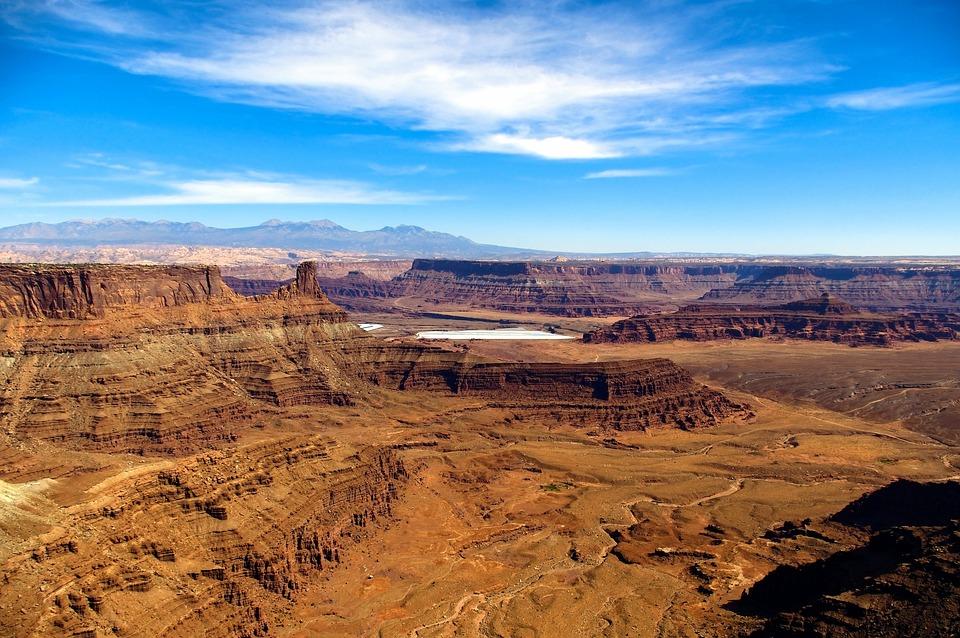 Utahs Dead Horse Point View, Canyon, Desert, Utah