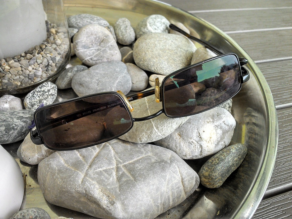 Sunglasses, Sun Protection, Uv Filter, Stones, Holiday