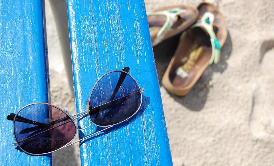 Sunglasses, Beach, Vacation
