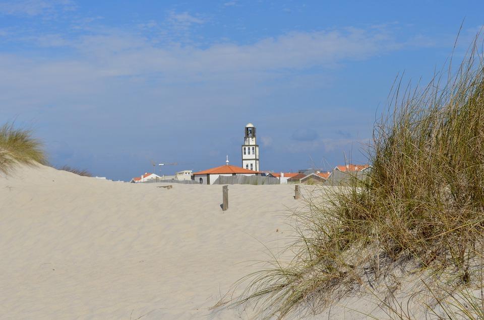 Portugal, Costa Nova, Beach, Atlantic, Travel, Vacation