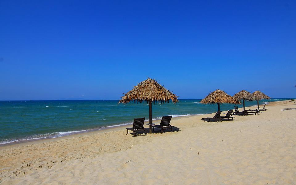 Beach, Sand, Ocean, Water, Vacation, Natural, Holiday