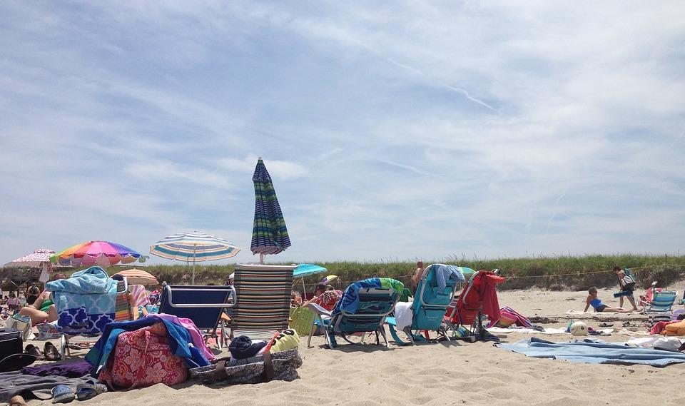 Beach, Sand, Umbrella, Nature, Travel, Vacation, Sun