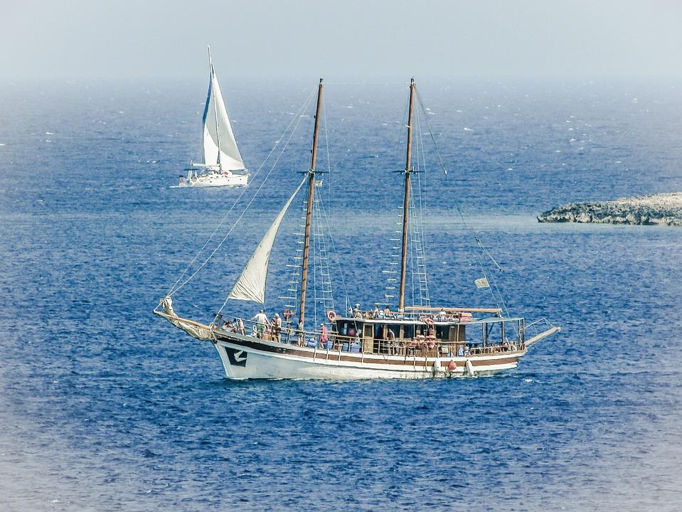 Boat, Summer, Sea, Ship, Sail, Travel, Vacation