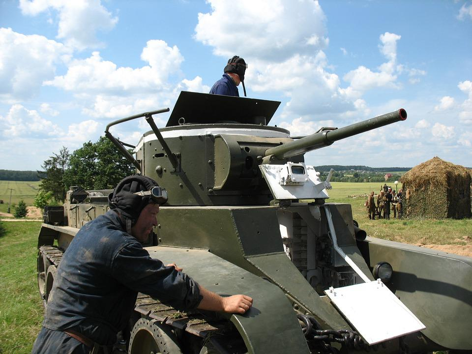 Tank, Museum, Stalin's Line Of Defense, Vacation