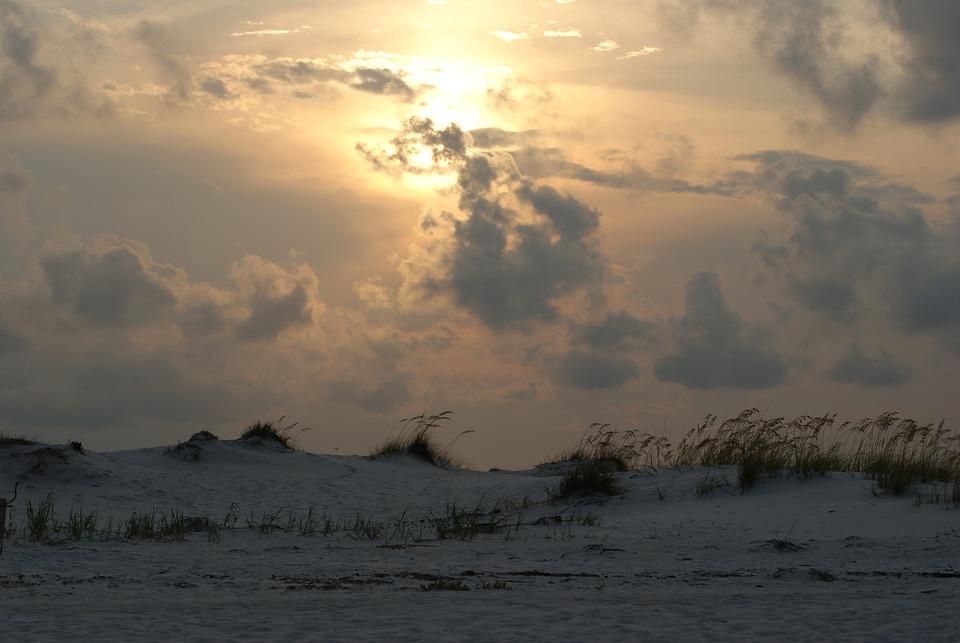 Sunset, Ocean, Beach, Sand, Sea, Travel, Sky, Vacation
